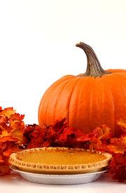 picture of pumpkin pie  - Fresh Pumpkin and Pie for autumn Holidays - JPG