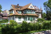 Brick House,  Built Around Year 1910 In Zakopane