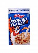 Box Of Kellogg's Frosted Flakes Cereal