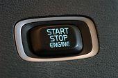 Start engine button