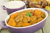 Lamb and Sweet Potato Peanut Stew