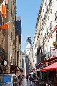Street Rue Des Petites Ecuries In Nantes, France.