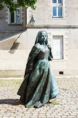 Sculpture Anne Of Brittany In Nantes, France