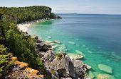 Bruce Pensinsula In Summer Time, Ontario, Canada