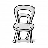 cartoon metal chair