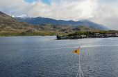Puerto Eden, Crossing Fjords In Southern Chile