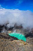 Crater Of Volcan Santa Ana, Cerro Verde National Park, El Salvador