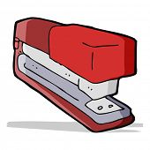 cartoon stapler