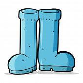 cartoon wellington boots