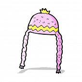 cartoon cool hat