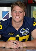 Um Football Player 47 Jake Ryan