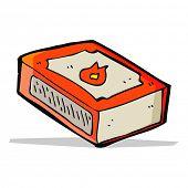 cartoon matchbox