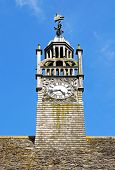 Decorative clock tower, Moreton-in-Marsh.
