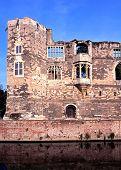 Newark castle.