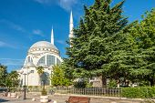 The Ebu Bekr Mosque .