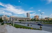 National Theatre Of Opera And Ballet Of Albania In Tirana.
