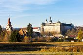 benedictine monastery in Broumov, Czech Republic