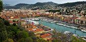 City Of Nice - Panoramic View Of Port De Nice