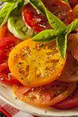 Healthy Heirloom Tomato Salad