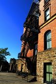 Historic Fire Escape