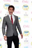 LOS ANGELES - AUG 10:  Tyler Posey at the 2014 Teen Choice Awards Press Room at Shrine Auditorium on