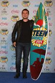 LOS ANGELES - AUG 10:  Josh Hutcherson at the 2014 Teen Choice Awards Press Room at Shrine Auditoriu