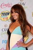 LOS ANGELES - AUG 10:  Lea Michele at the 2014 Teen Choice Awards Press Room at Shrine Auditorium on
