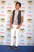 LOS ANGELES - AUG 10:  Nolan A. Sotillo at the 2014 Teen Choice Awards Press Room at Shrine Auditorium on August 10, 2014 in Los Angeles, CA