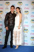 LOS ANGELES - AUG 10:  Gregg Sulkin, Victoria Justice at the 2014 Teen Choice Awards Press Room at Shrine Auditorium on August 10, 2014 in Los Angeles, CA
