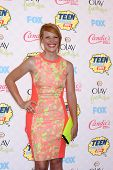 LOS ANGELES - AUG 10:  Katie Leclerc at the 2014 Teen Choice Awards at Shrine Auditorium on August 10, 2014 in Los Angeles, CA