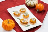 picture of butternut  - Plate full of savory butternut - JPG