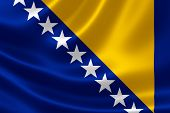 Bosnia And Herzegovina's Flag