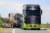 Mercedes-benz Actros Show Truck Joker In Finland