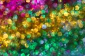 Bright Multi-colored Spots As Abstract Background
