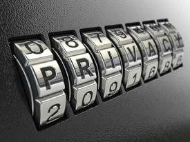 picture of combinations  - Privacy password combination concept - JPG