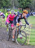 Gijon, Spain - January 11: Cyclocross Championships Spain In January 11, 2015 In Gijon, Spain. Unide