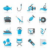 picture of fishing bobber  - Fishing industry icons  - JPG