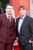 LOS ANGELES - JAN 8:  Ethan Hawke, Richard Linklater at the Ethan Hawke Hand and Foot Print Ceremony at a TCL Chinese Theater on January 8, 2014 in Los Angeles, CA