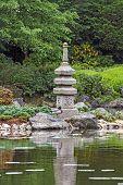 Fragment Of A Japanese Garden