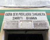 KOLKATA, INDIA - JANUARY 26: The inscription at the entrance to to Daya Dan, one of the houses established by Mother Teresa and run by the Missionaries of Charity in Kolkata, India on January 26, 2009