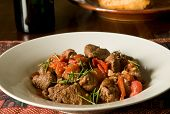 lamb with tomatoes and rosemary