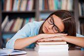 Exam Exhaustion.