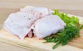 Raw Chicken Thighs