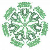 Green Laural Wreath