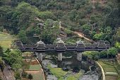 Wooden Bridge Village Chengyang, Tourist Attractions In The Vicinity Sanjiang.