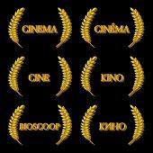 Cinema Laurels In Different Languages 3D 2