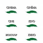 Cinema Laurels In Different Languages 3D 3
