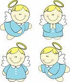 baby cute angels set