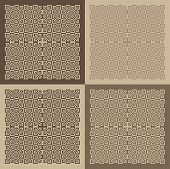 Vector Set Of Patterned Blocks