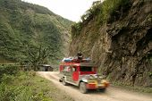 mountain jeepney